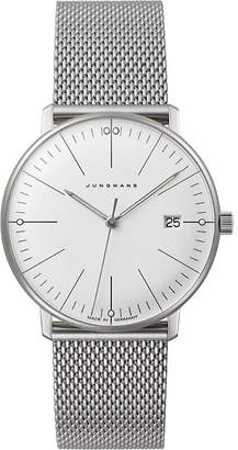 Junghans 047/4250.44 Max Bill stainless steel quartz watch