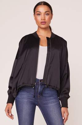 BB Dakota On Duty Satin Bomber Jacket