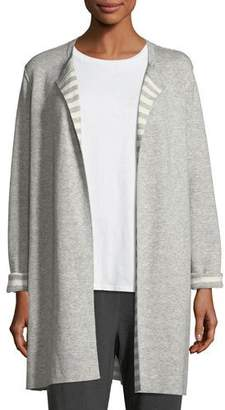 Eileen Fisher Organic Cotton Cashmere Reversible Cardigan