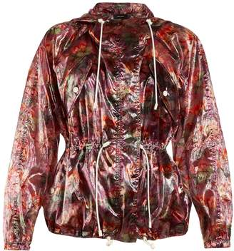 Isabel Marant Olaz floral-print hooded jacket