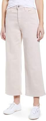 AG Jeans Etta High Waist Crop Wide Leg Jeans