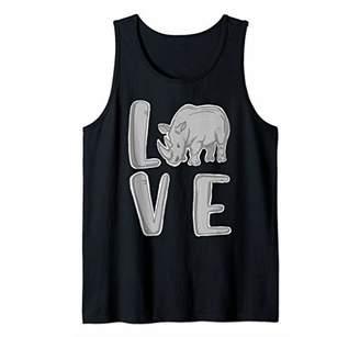 I Love Rhinos Tank Top