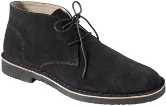 Banana Republic Brendt Suede Crepe-Sole Chukka Boot
