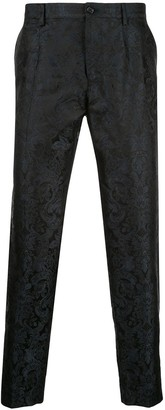 Dolce & Gabbana floral print chinos