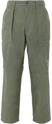 Beams Baker Wide-Leg Cotton Trousers
