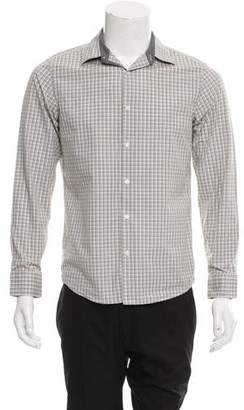 Michael Kors Plaid Button-Up Shirt