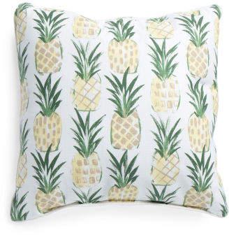 Made In Usa 22x22 Slub Pineapple Pillow