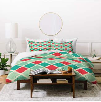 Deny Designs Holli Zollinger Gypsy Stars Queen Duvet Set Bedding