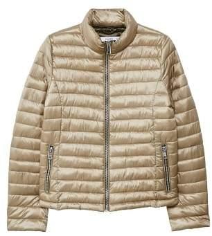 MANGO Contrast liner quilted coat