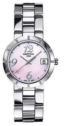 Argento Certina Women's DS Stella 31mm Steel Bracelet Quartz Watch C009.210.11.152.00