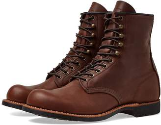 """Red Wing Shoes 2943 Heritage Work 8"""" Harvester Boot"""