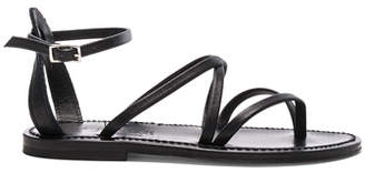 K. Jacques Leather Epicure Sandals