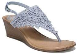 Fergalicious Slingback Wedge Sandals