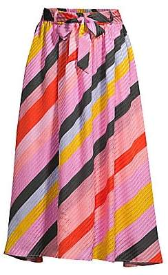 Stine Goya Women's Audrey Striped Midi Skirt