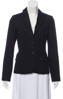 Tara Jarmon Structured Notch-Lapel Blazer