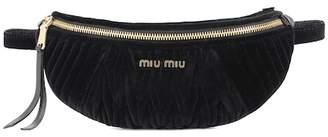 Miu Miu Velvet belt bag