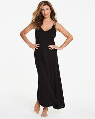 Simply Yours Embroidered Maxi Dress