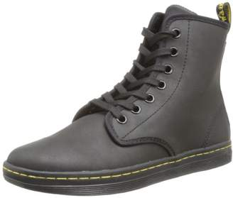 Dr. Martens Women's Shoreditch Greasy Lamper/Suede Boot UK 3 (US Women's 5) M