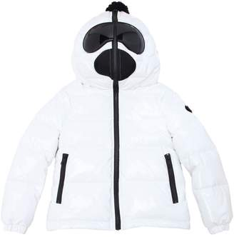 AI Riders On The Storm Laqué Nylon Down Jacket