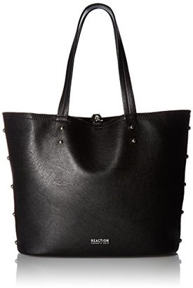 Kenneth Cole Reaction Clean Slate Studded Shopper $53.40 thestylecure.com