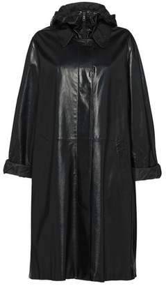 Prada Nappa Leather Coat