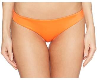 RVCA Solid Cheeky Bottom Women's Swimwear