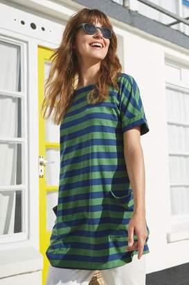 Womens Seasalt Hedra Tunic Comma Hedgerow Marine - Green