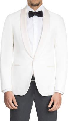 Isaia Men's Satin Shawl-Collar Dinner Jacket