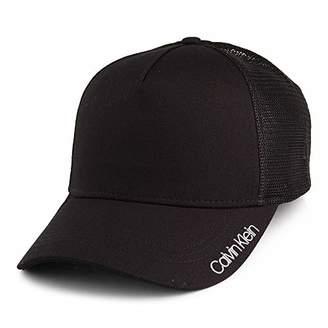 Calvin Klein Hats Item Trucker Cap - Black