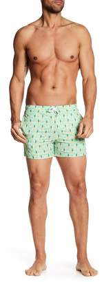 Trunks Bermies Pineapple Swim Shorts