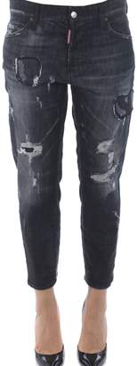DSQUARED2 Distressed Tomboy Jeans