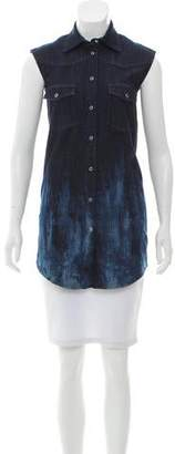 Maison Margiela Sleeveless Denim Tunic