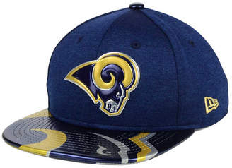 New Era Boys' Los Angeles Rams 2017 Draft 9FIFTY Snapback Cap