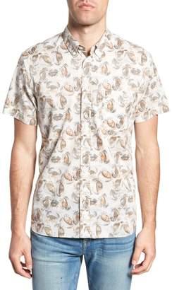 Billy Reid Tuscumbia Standard Fit Short Sleeve Sport Shirt