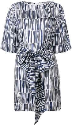 Vanessa Seward geometric mini dress