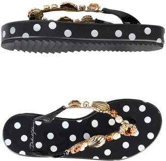 Dolce & Gabbana Toe strap sandals - Item 11365816FR