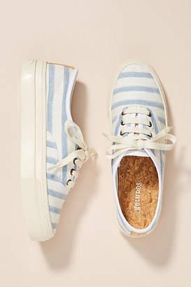 Soludos Striped Platform Sneakers