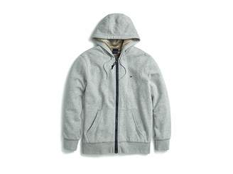 Tommy Hilfiger Adaptive Hoodie with Magnetic Zipper and Fleece Lining