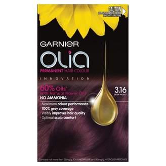 Garnier Olia Permanent Hair Colour 3.16 Deep Violet 1 pack
