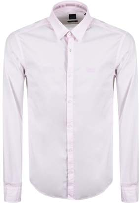 BOSS GREEN Boldo Shirt Pink