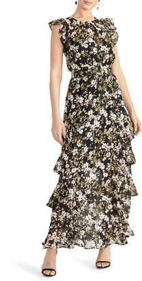 Rachel Roy Issa Tiered Maxi Dress