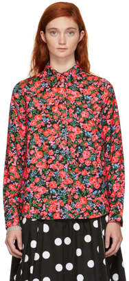 Marc Jacobs Multicolor Floral Printed Shirt
