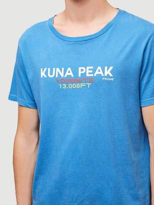 Frame Kuna Peak Short Sleeve Tee