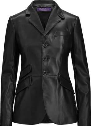 Ralph Lauren Alastair Lambskin Jacket