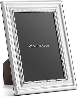 Georg Jensen Pearl Sterling Silver Photo Frame