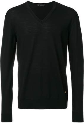 Versace V-neck slim-fit jumper