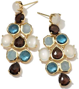 Ippolita 18k Rock Candy® Gelato Chandelier Earrings, Chambray