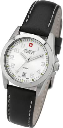 Swiss Military Hanova Women's 28mm Leather Band Quartz Watch 06-6030.04.001.07