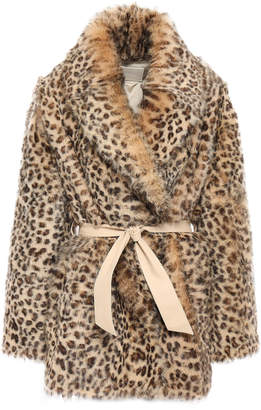 Drome Belted Shearling Coat
