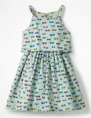Boden Double-layered Woven Dress